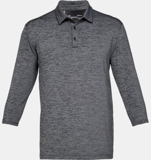 Mens UA Playoff ¾ Sleeve Polo
