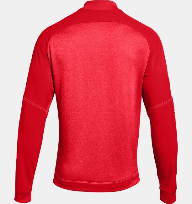 Mens UA Knit Warm-Up Jacket