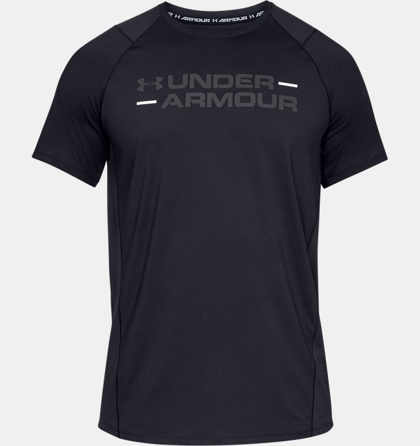 Mens UA MK-1 Wordmark Short Sleeve Shirt