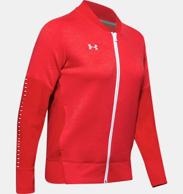Womens UA Knit Warm-Up Jacket