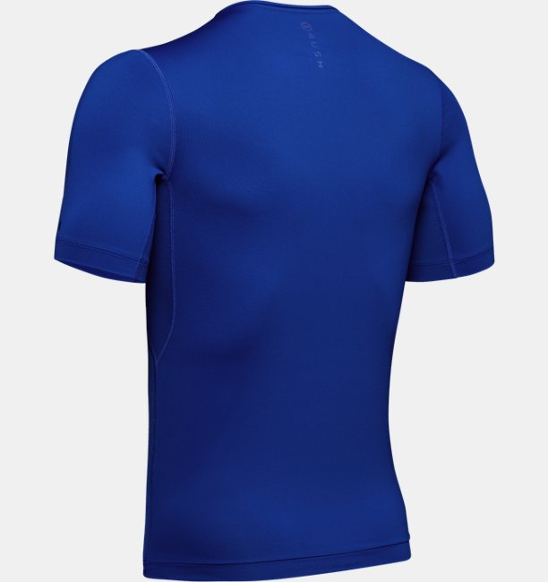 Mens UA RUSH Compression Short Sleeve