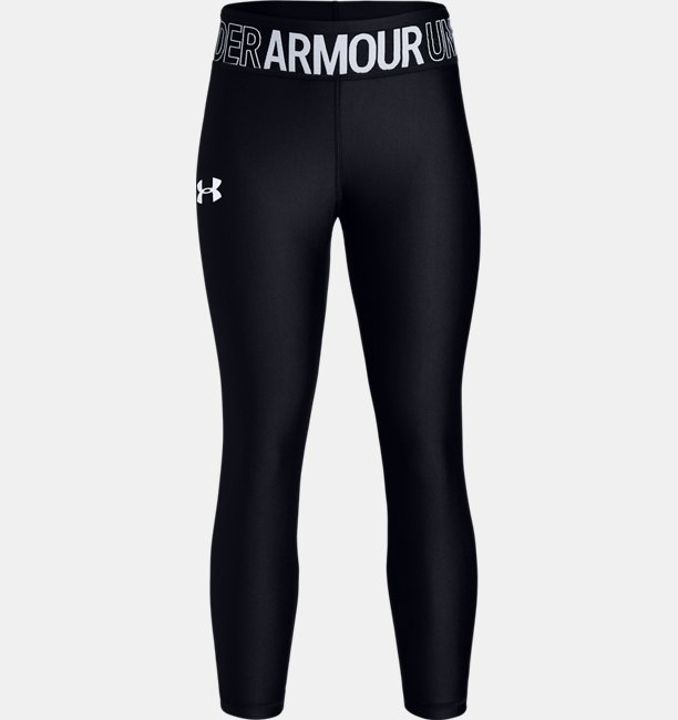 Girls HeatGear® Armour Ankle Crop