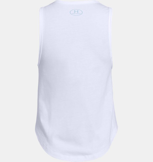 Girls UA Badge Tank