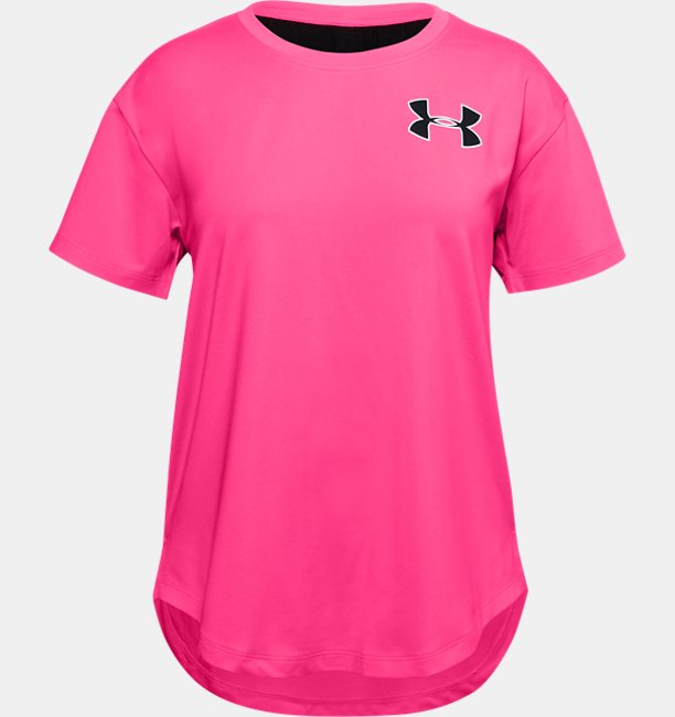 Girls HeatGear® Armour Short Sleeve