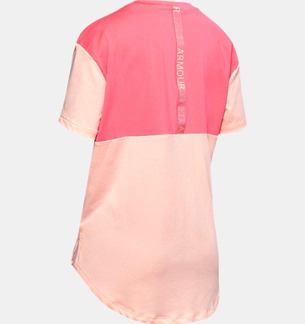 Girls HeatGear® Armour Short Sleeve
