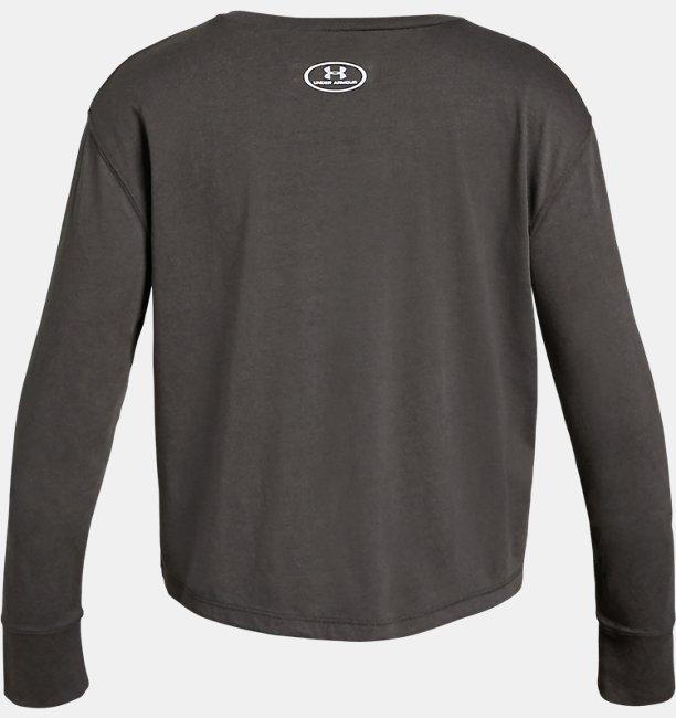 Girls UA Branded Long Sleeve