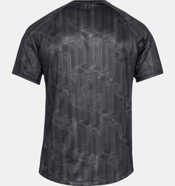 Mens UA Tech™ 2.0 Printed Short Sleeve