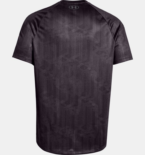 Mens UA Tech™ Printed Short Sleeve
