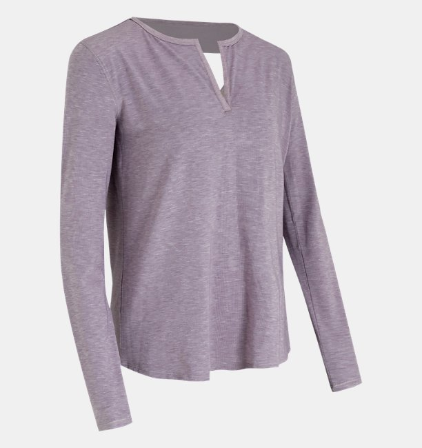 Womens UA RECOVER™ Sleepwear Long Sleeve Shirt