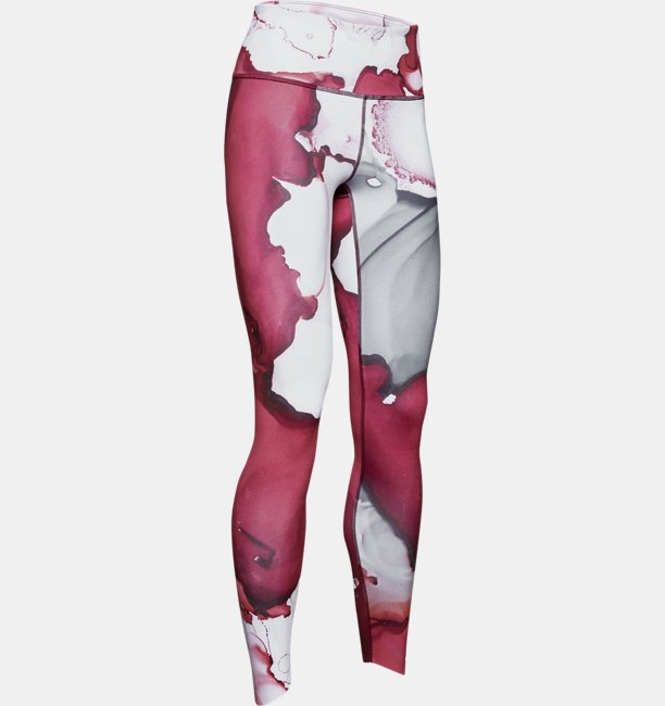 Womens UA Breathelux Ankle Crop Ink Formation Print