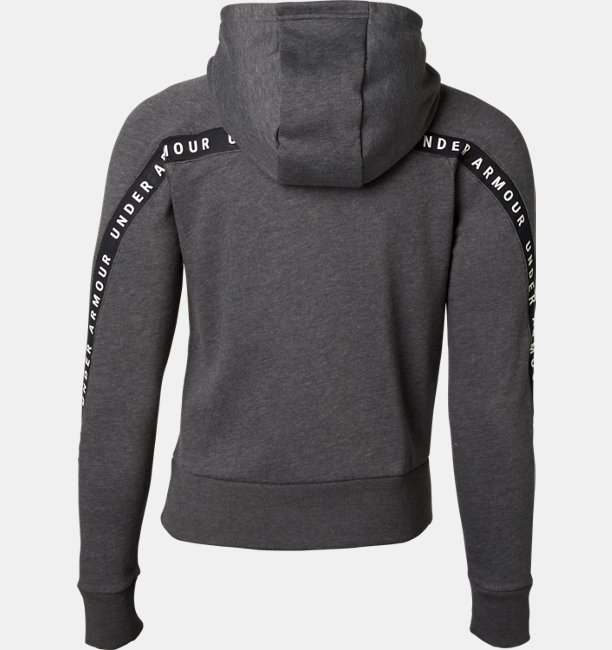 Womens UA Taped Fleece Full Zip