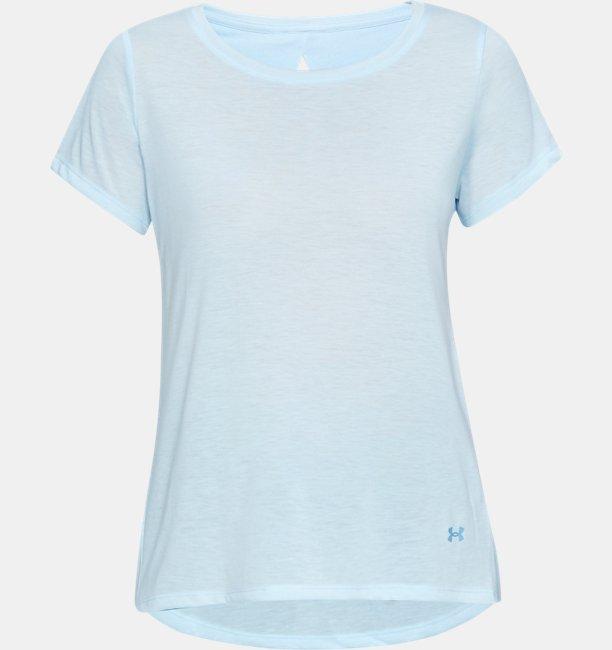 Womens UA Whisperlight Short Sleeve Foldover