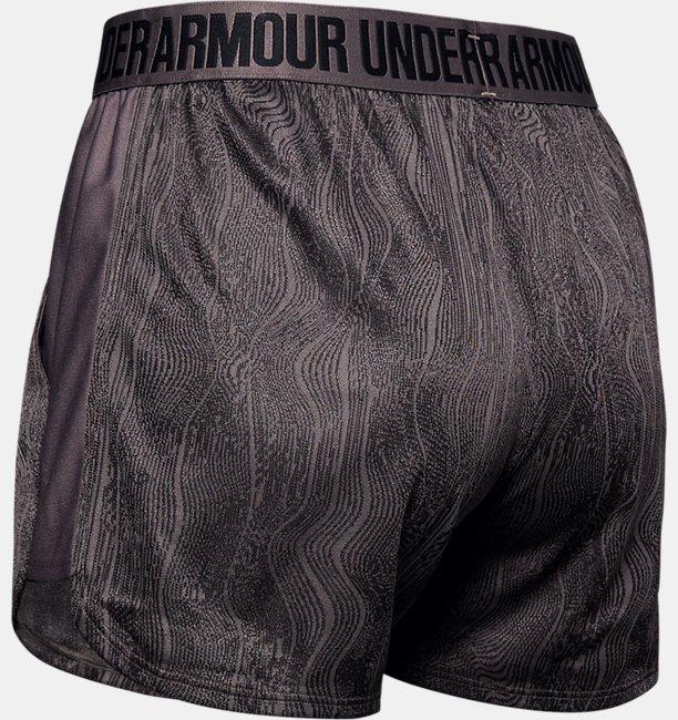 Shorts Jacquard UA Play Up Feminino