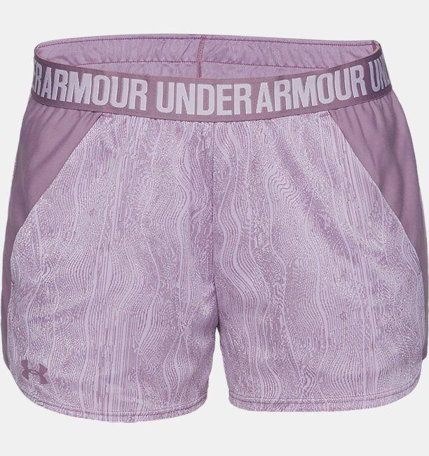 Womens UA Play Up Shorts Jacquard
