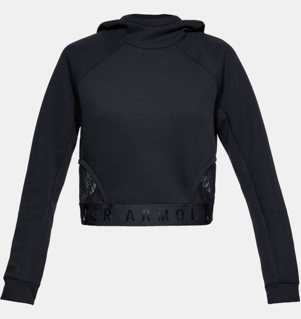 Womens UA Unstoppable Move Light Crop Hoodie