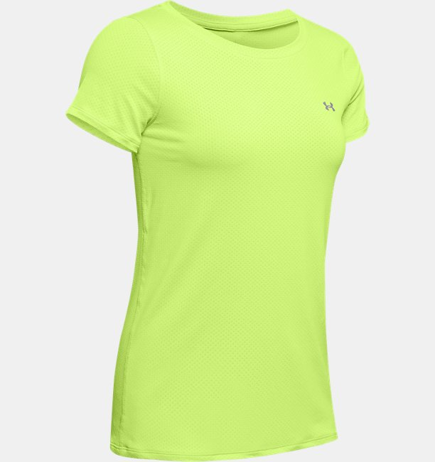 Womens HeatGear® Armour Short Sleeve