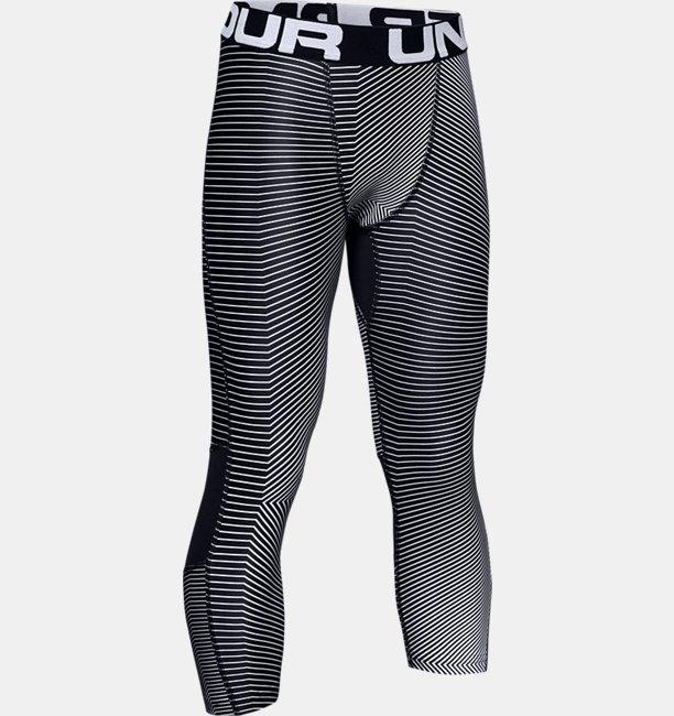 Boys HeatGear® Armour ¾ Printed Leggings