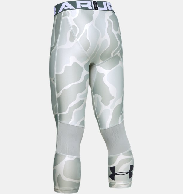 Boys HeatGear® Armour ¾ Printed Leggings