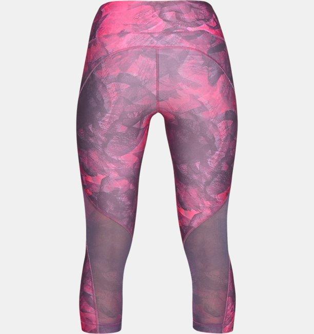 Womens HeatGear® Armour Capri Print