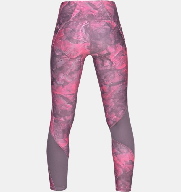 Leggings HeatGear® Armour Ankle Crop Print para mujer