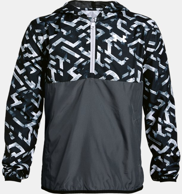 Boys UA Sackpack ½ Zip Jacket