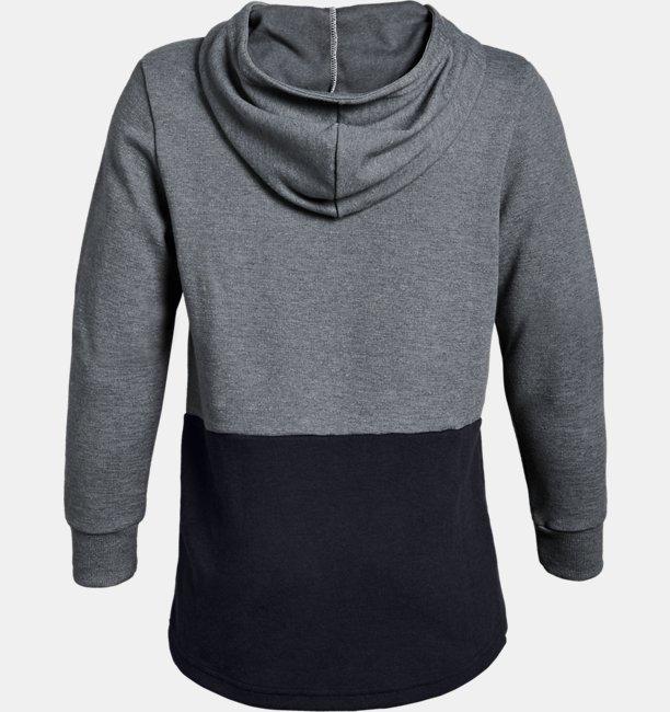 Polerón con gorro UA Unstoppable Double Knit para niño
