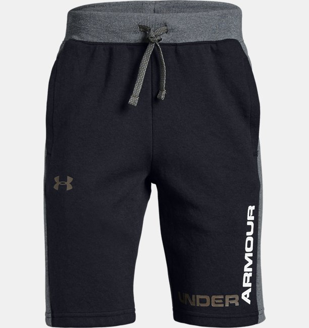 Boys UA Unstoppable Double Knit Shorts