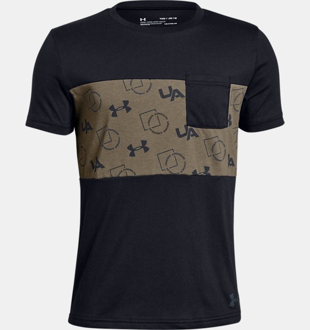 Boys' UA Sportstyle Pocket T-Shirt