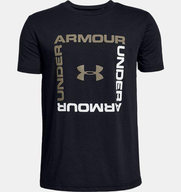 Boys UA Box Logo Short Sleeve