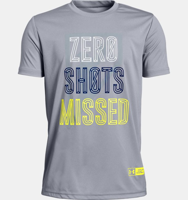 Boys SC30 Zero Shots Missed Short Sleeve