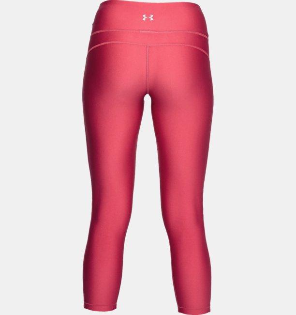 Calça Crop com a Marca HeatGear® Armour Feminina
