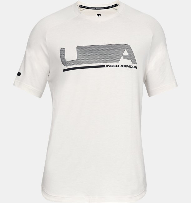 Mens UA Unstoppable Move Short Sleeve T-Shirt