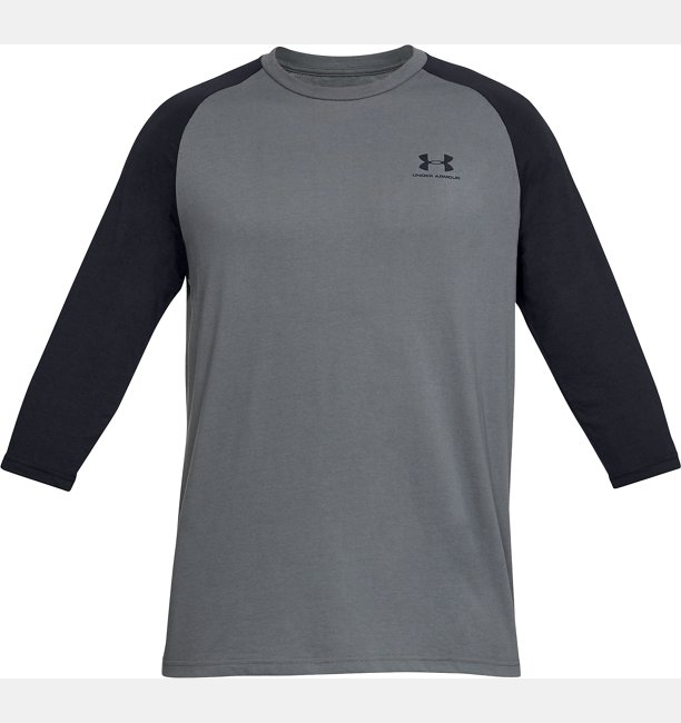 Mens UA Sportstyle Left Chest ¾ T-Shirt
