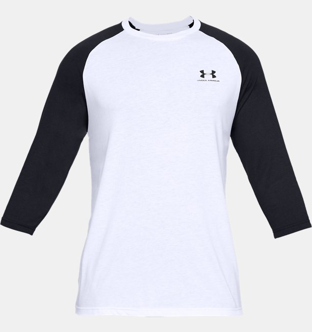 Heren T-shirt UA Sportstyle Left Chest ¾