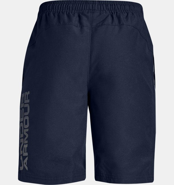 Boys UA Woven Graphic Shorts
