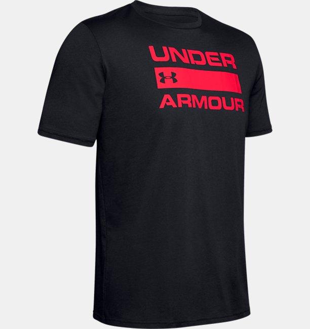 UAチーム イシュー ワードマーク ショートスリーブ(トレーニング/Tシャツ/MEN)