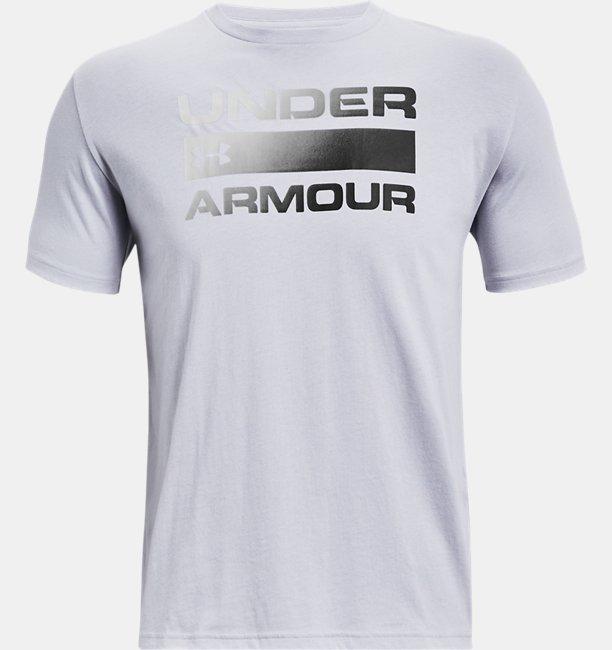 Herenshirt UA Team Issue Wordmark met korte mouwen