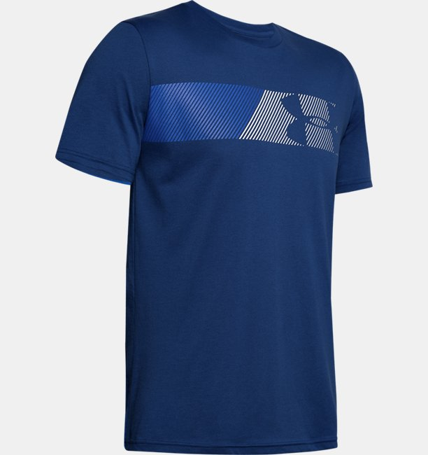 Mens UA Fast Left Chest Short Sleeve