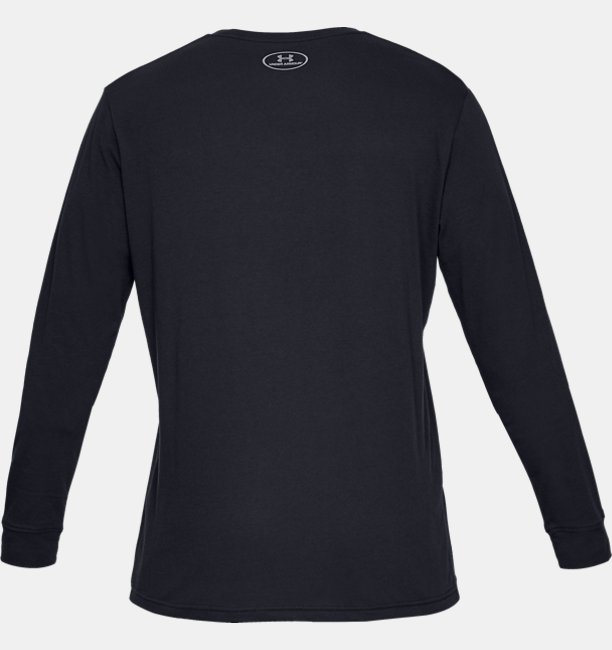 Mens UA Sportstyle Left Chest Long Sleeve