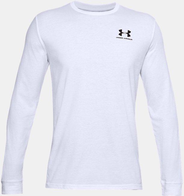 UAスポーツスタイル レフトチェスト ロングスリーブ(トレーニング/MEN)