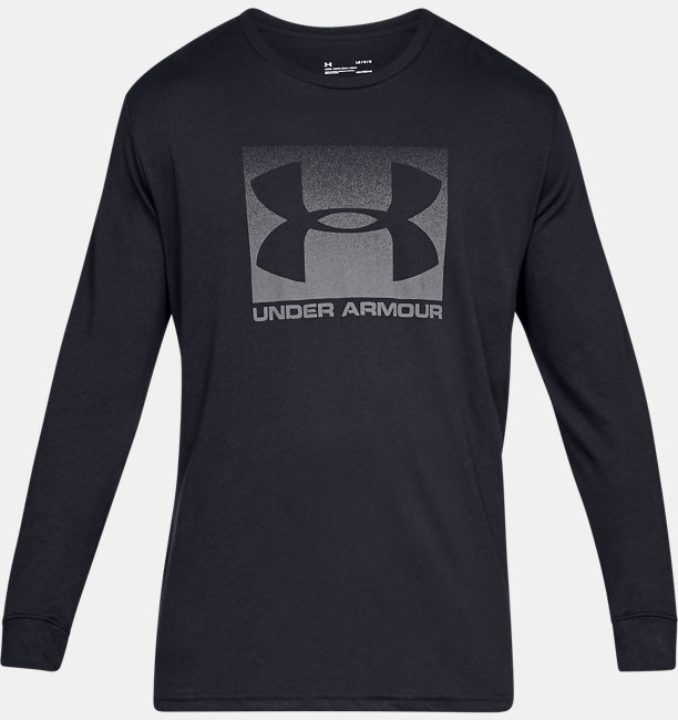 Mens UA Sportstyle Boxed Long Sleeve