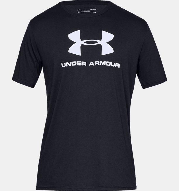 Camiseta de Treino Masculina Under Armour Sportstyle Logo