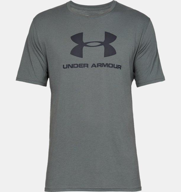 Mens UA Sportstyle Logo Short Sleeve
