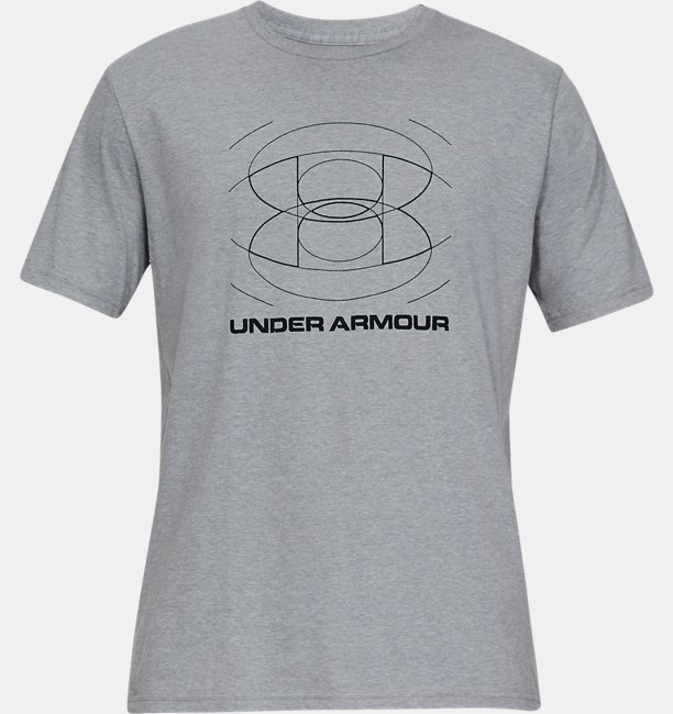 Mens UA Optic Logo Short Sleeve Shirt
