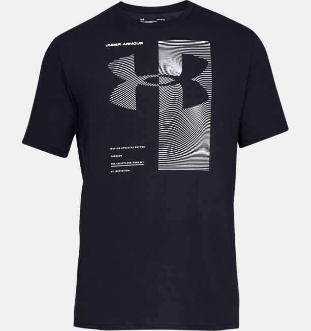 Mens UA Two Tone Big Logo Short Sleeve Shirt