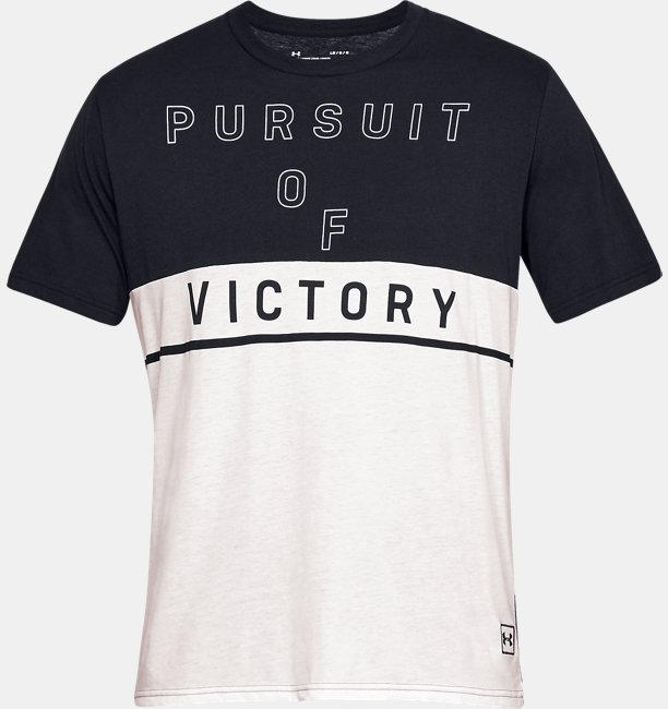 Camiseta de manga corta UA Pursuit Of Victory para hombre