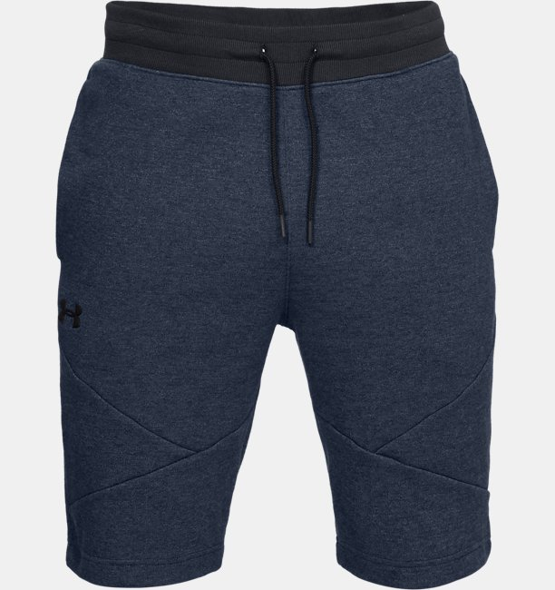 Mens UA Unstoppable Double Knit Shorts
