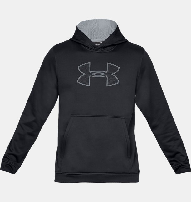 Mens UA Big Logo Hoodie
