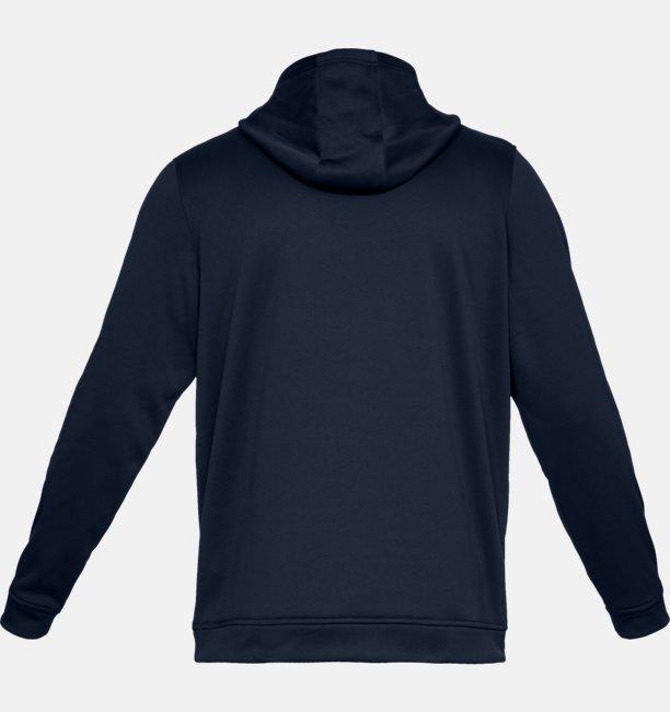 Mens UA Performance Fleece Graphic Hoodie