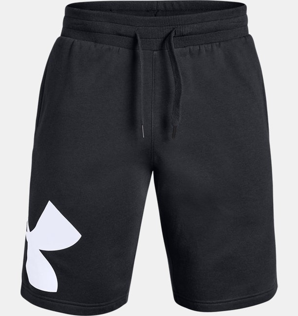 Mens UA Rival Fleece Logo Shorts
